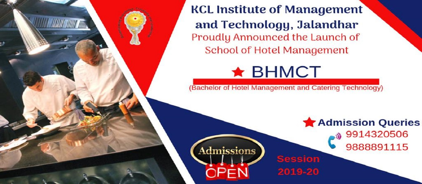 BHMCT Admission Query